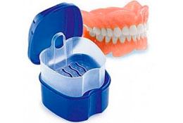 как выбрать контейнер для зубных протезов