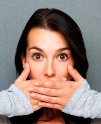 неприятный запах изо рта (галитоз)
